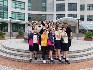 中六學生參觀香港教育大學