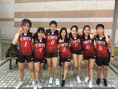學生參與學界排球比賽