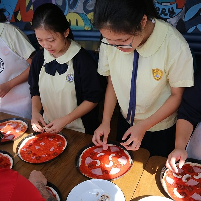 學生參觀PIZZA EXPRESS