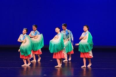 學生參加香港校舞蹈節